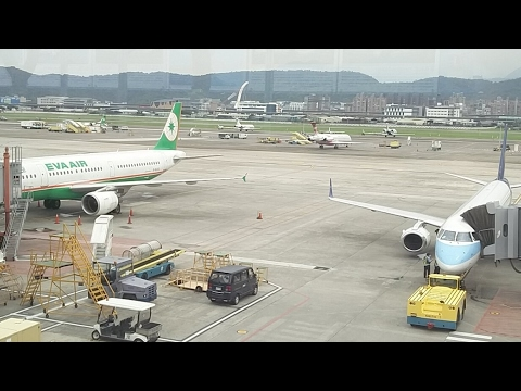 Taipei Airport Eva Air China Airlines (Hong Kong Live Coming this week)