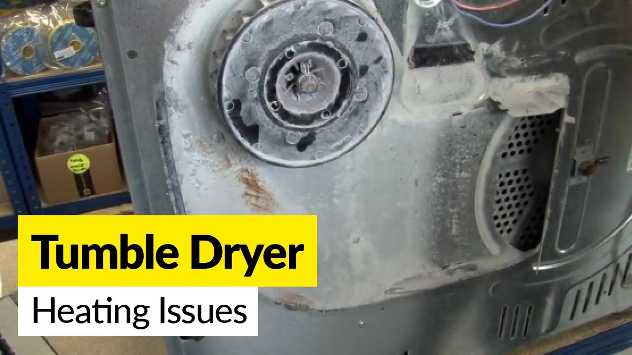 Clothes dryer repair no heat