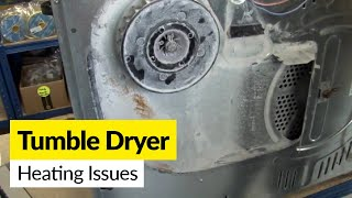 Dryer problems: How to fix a dryer that's not heating up