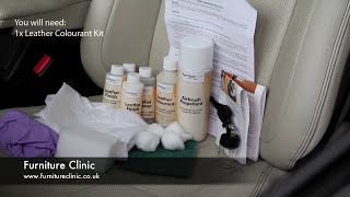 Repairing a Leather Car Seat