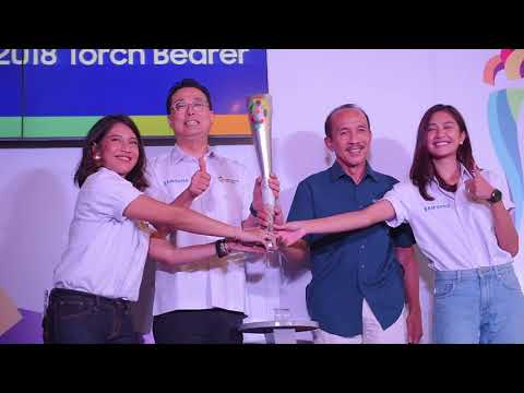 Samsung Press Conference Asian Games 2018 Torch Bearer