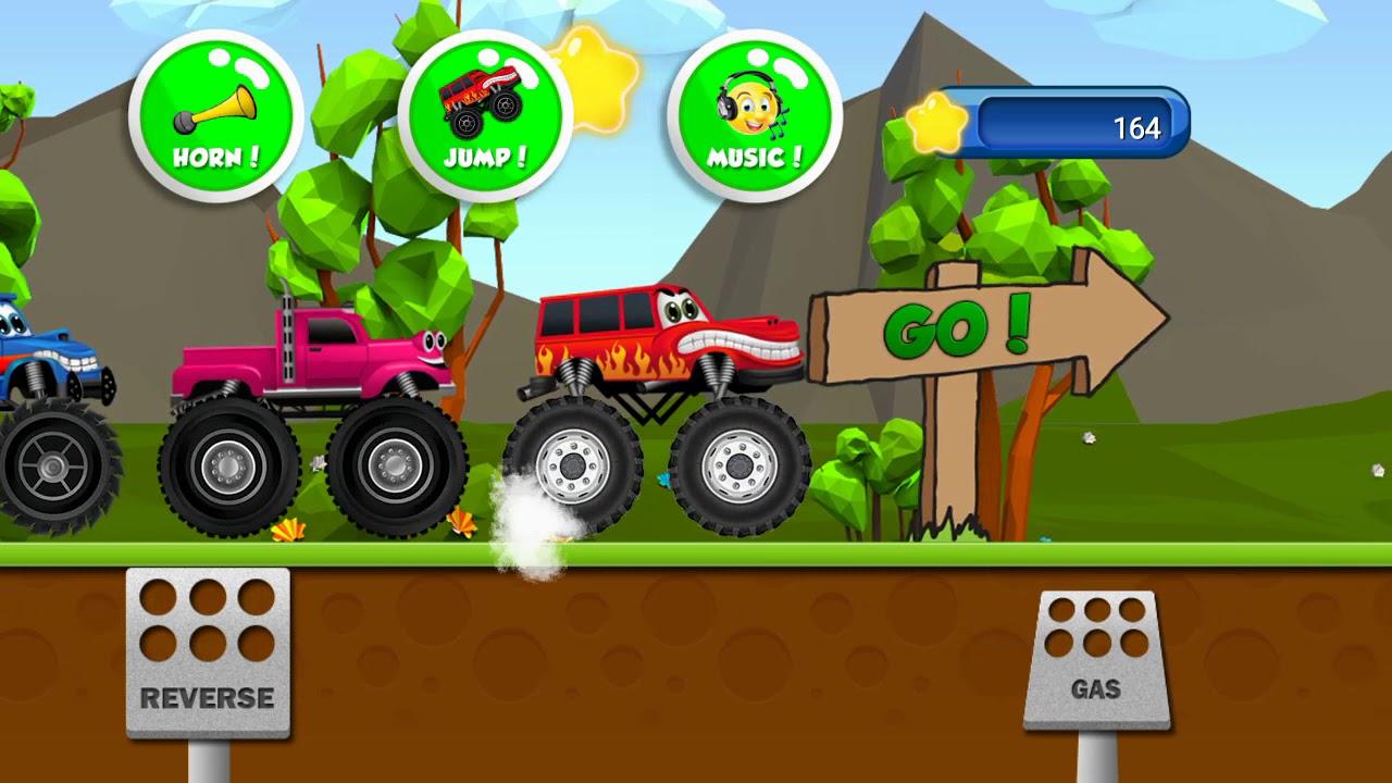 Monster Trucks Game For Kids 2 #1 - 4X4 SUV SIMULATOR ...