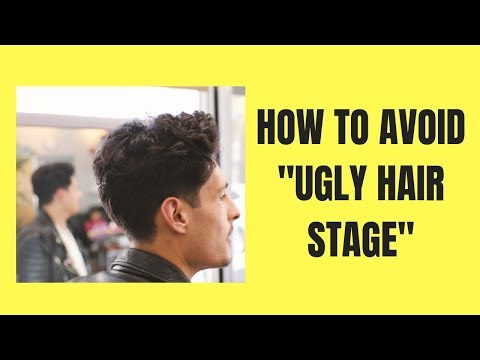 avoid-ugly-stages-to-longer-hair-|-haircut-for-men