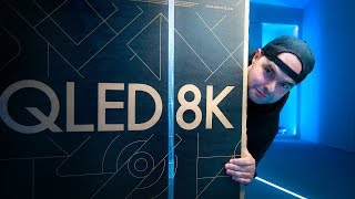 O MAIOR UNBOXING SAMSUNG | 8K