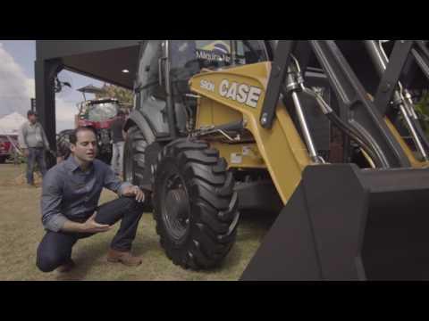 Agrishow 2017 Retroescavadeira 580N Versão Carregadeira – PT
