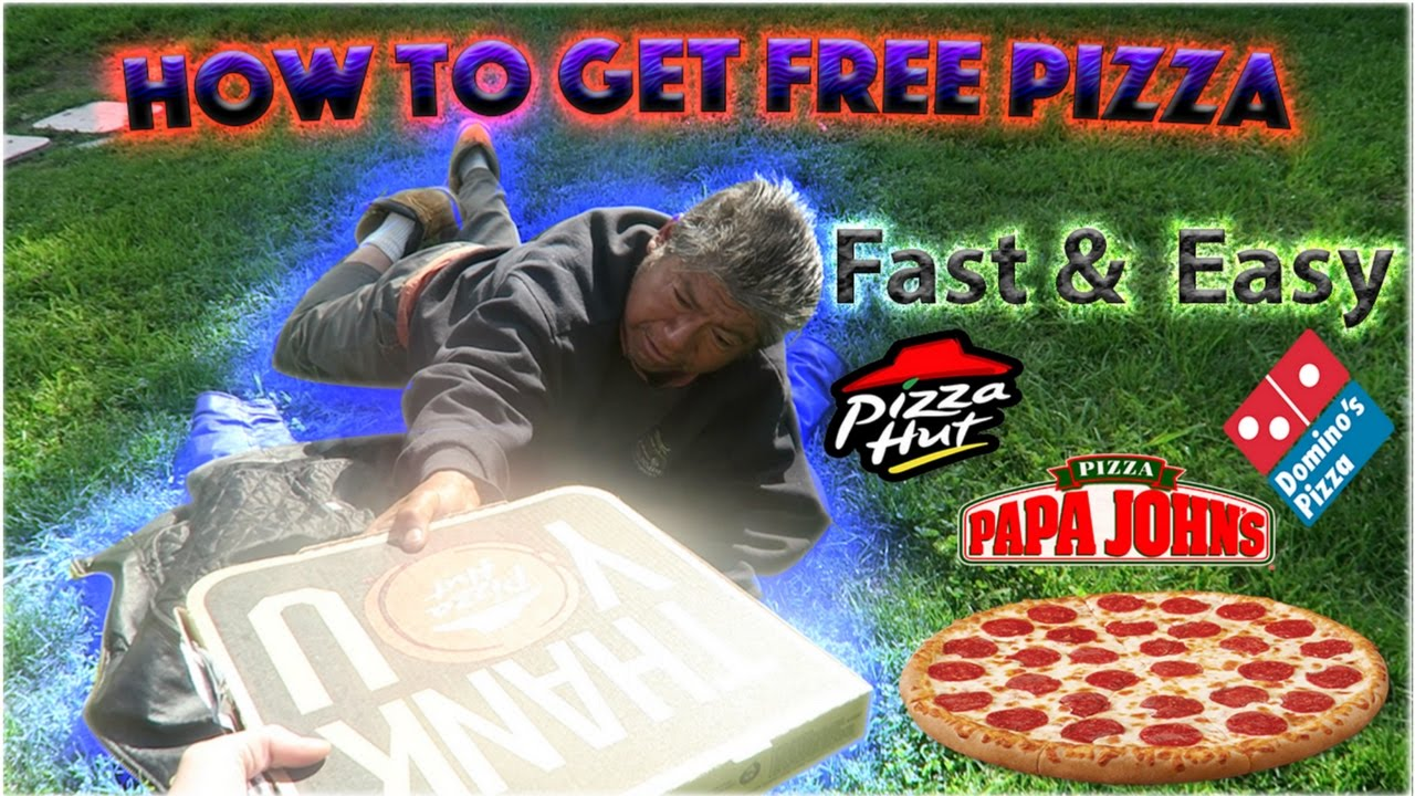 HOW TO GET FREE PIZZA + (Feeding the Homeless)