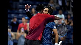 Gael Monfils vs Pablo Andujar | US Open 2019 R4 Highlights