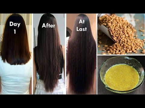 DOUBLE Hair growth, Grow Long Hair and Stop Hair Fall with Fenugreek Seeds(100% Works)