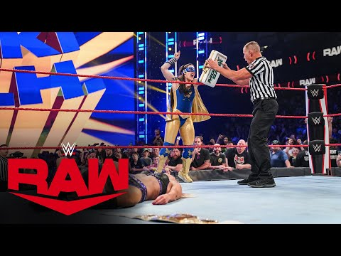 Nikki A.S.H. becomes Raw Women's Champion after Charlotte Flair vs. Rhea Ripley: Raw, July 19, 2021