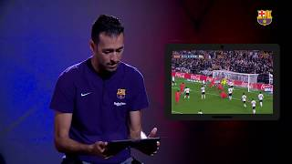 #SERG10 | Busquets tested on 10 years at Barça