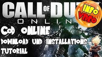 Call of Duty Online kostenlos spielen - Download und Installations Tutorial   Deutsch