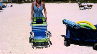 How to close a Tommy Bahama Beach Chair