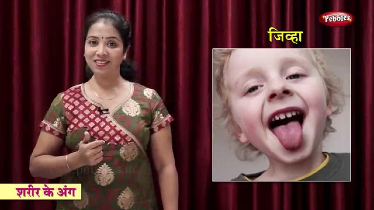 Body Parts In Hindi