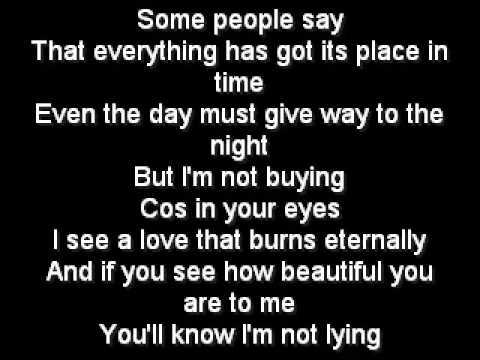 Westlife - Swear It Again {Lyrics} B-side Version Of swear It Again