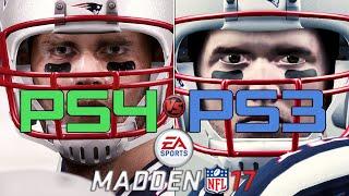 Madden NFL 17 - PS4 vs PS3 Graphics/Face/Gameplay COMPARISON | Current Gen vs Last Gen | (60fps)