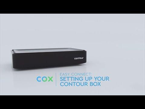 Setting Up Your Cox Contour 2 TV Client Box