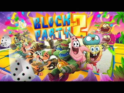 Nickelodeon characters BLOCK PARTY 2 Free Online Games Mini Games Strategy Games
