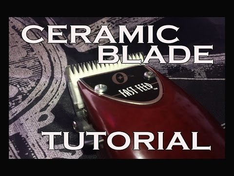 Ceramic Blade Fast Feed Tutorial / Easy to follow tutorial (HD)