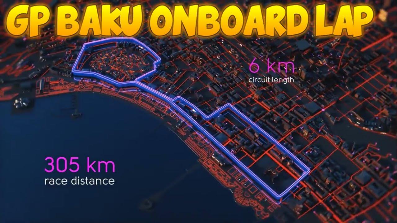Circuito Urbano De Baku : Este nuevo trazado urbano llega a bakú en medio de una gran