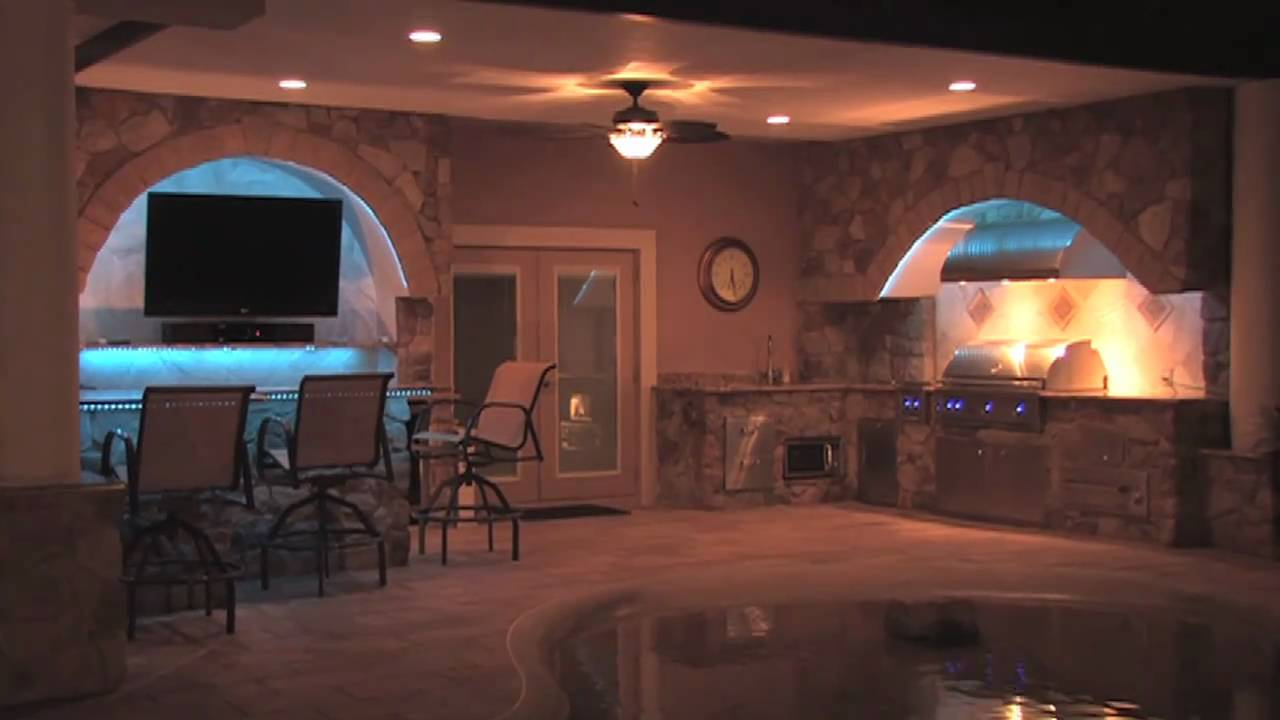 Outdoor Impressions- Outdoor Kitchen - YouTube