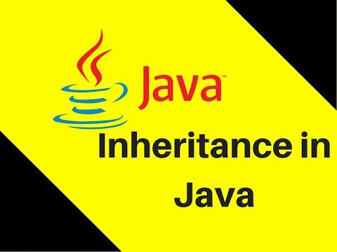 What is Inheritance in Java | Lecture | Tutorial