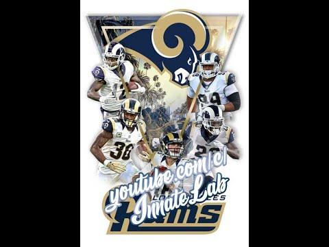 DIY Photoshop Template Geometric Triangle Football LA Rams Fan Art Poster Sports Edit Player Basketb