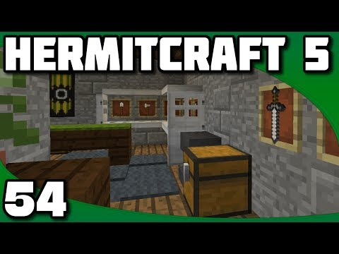 Hermitcraft 5 - Ep. 54: Blacksmith Interior