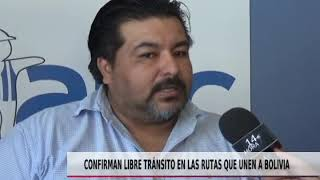 CONFRMAN LIBRE TRANSITO DE RUTAS