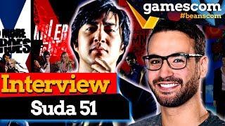 Von Killer 7 zu No More Heroes 3 - Suda51 im Interview | gamescom 2019
