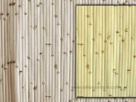 Бамбуковые обои. Инструкция по поклейке.