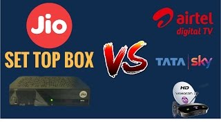 Reliance Jio Set Top Box | Should Other DTH Operators Be Worried?