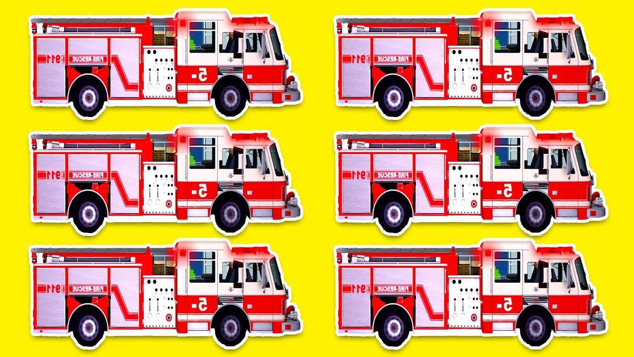 Fire Engine For Children Car Full Movies 20 Min Fire Truck Kids Cartoon Firetruck For Kids Youtube