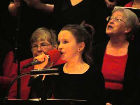 Jordan McKenzie Bailey - Cantata Christmas Chior 2012