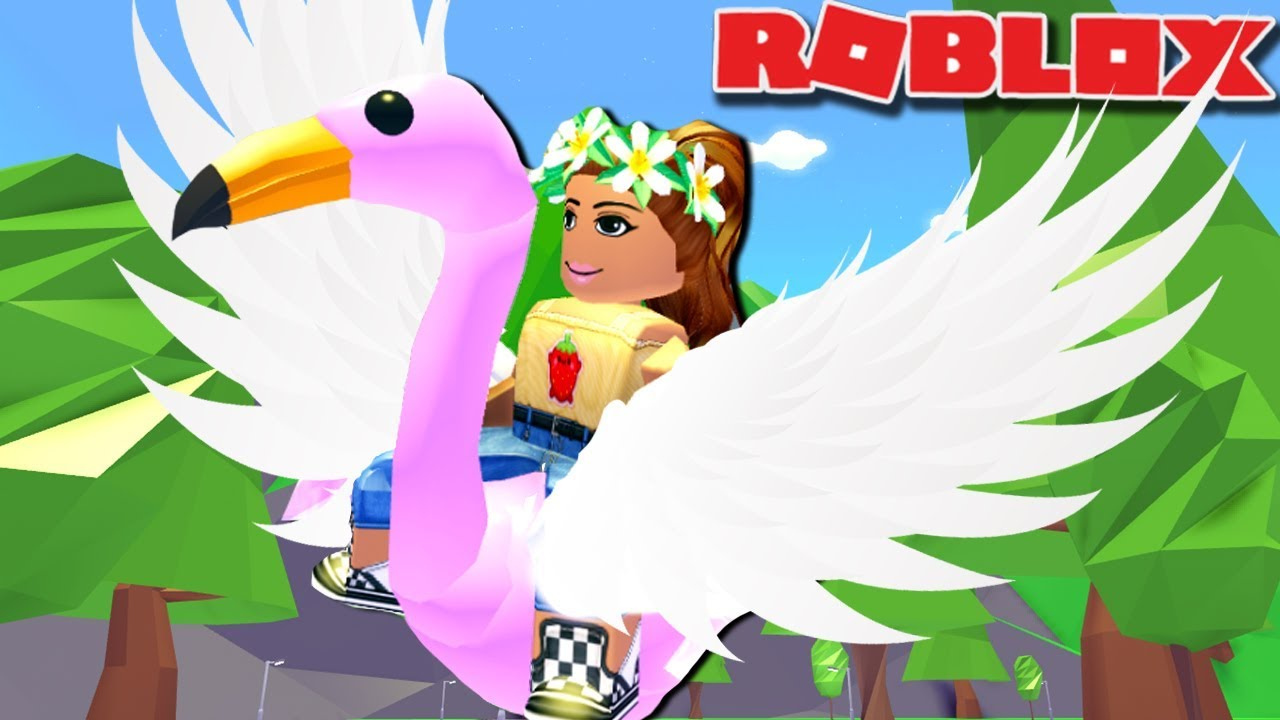 FLYING ON MY PETS ON ADOPT ME  New Flying Potion Update