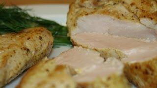Как приготовить сочную куриную грудку - рецепт(Куриная грудка по этому рецепту, получается очень сочной, вкусной, отлично подходит для салатов, для бутерб..., 2014-05-29T08:41:48.000Z)