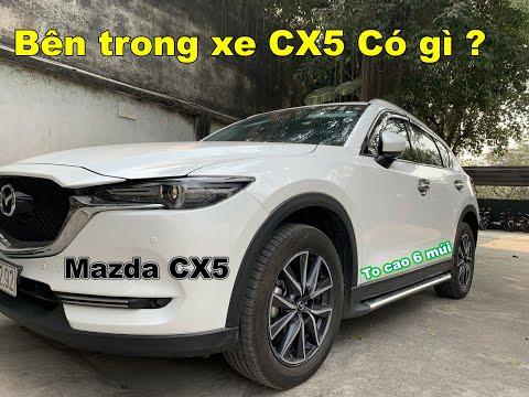 Bên trong xe Mazda CX5 Có gì ? Đẹp hay xấu ? Ô Tô Vlog 81