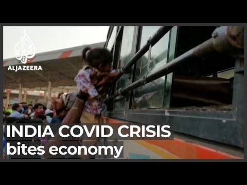 India migrant workers flee capital as COVID batters economy
