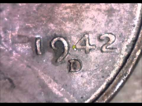 Coin Collection 39 1942 D/D Penny