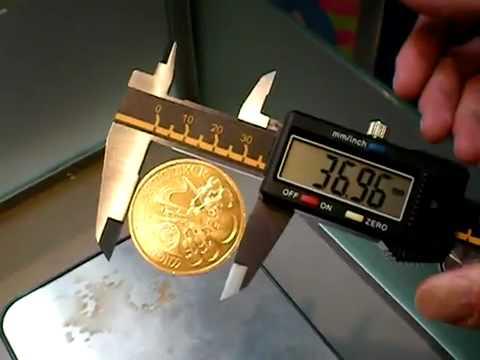 Fake Austrian Philharmonic 1oz Gold Coin Youtube