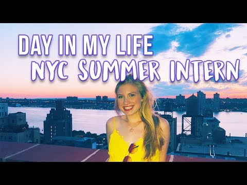 A DAY IN MY LIFE AS A NEW YORK CITY INTERN // Summer 2017 • Lottie Smalley
