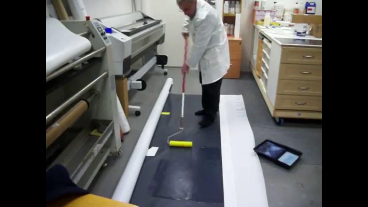 Floor Roller Coating Landor Liquid Lamination