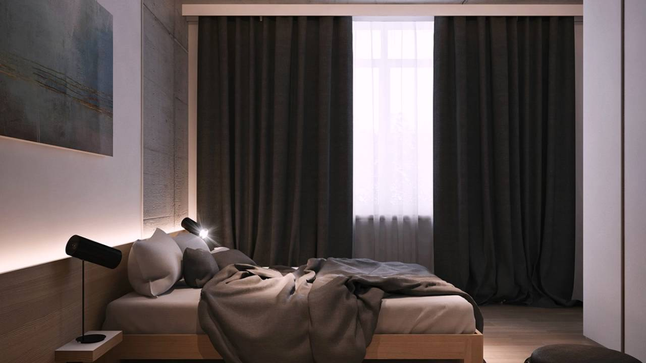 Schlafzimmer Vorhang #25: Schwarz Schlafzimmer Vorhang Inspiration