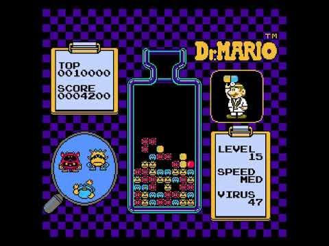"""[Điện tử 4 nút] """"Phá đảo""""  huyền thoại xếp thuốc Dr. Mario"""