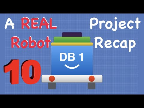 Build a Real Robot – Part 10 – Project Recap & Correction | DroneBot