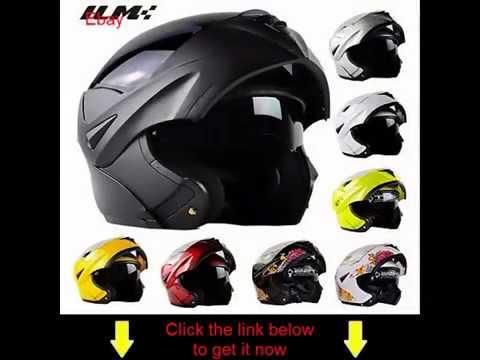 f7576626 ILM 8 Colors Motorcycle Dual Visor Flip up Modular Full Face Helmet ...