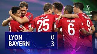 Lyon vs Bayern Munich (0-3) | UEFA Champions League Highlights