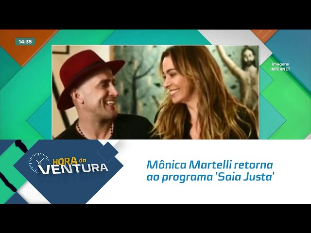 Mônica Martelli retorna ao programa 'Saia Justa' e homenagem Paulo Gustavo
