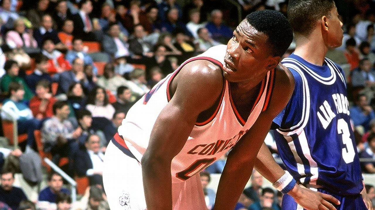 UConn Highlights Cliff Robinson Junior & Senior Seasons 1987