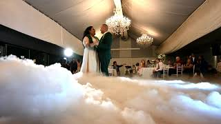 Fiona & Justin's Wedding - Dancing on a Cloud Effect - Beat Connection