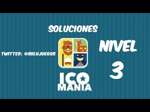 Icomania Level 3 Answers 44-76 SOLUCIONES Nivel 3